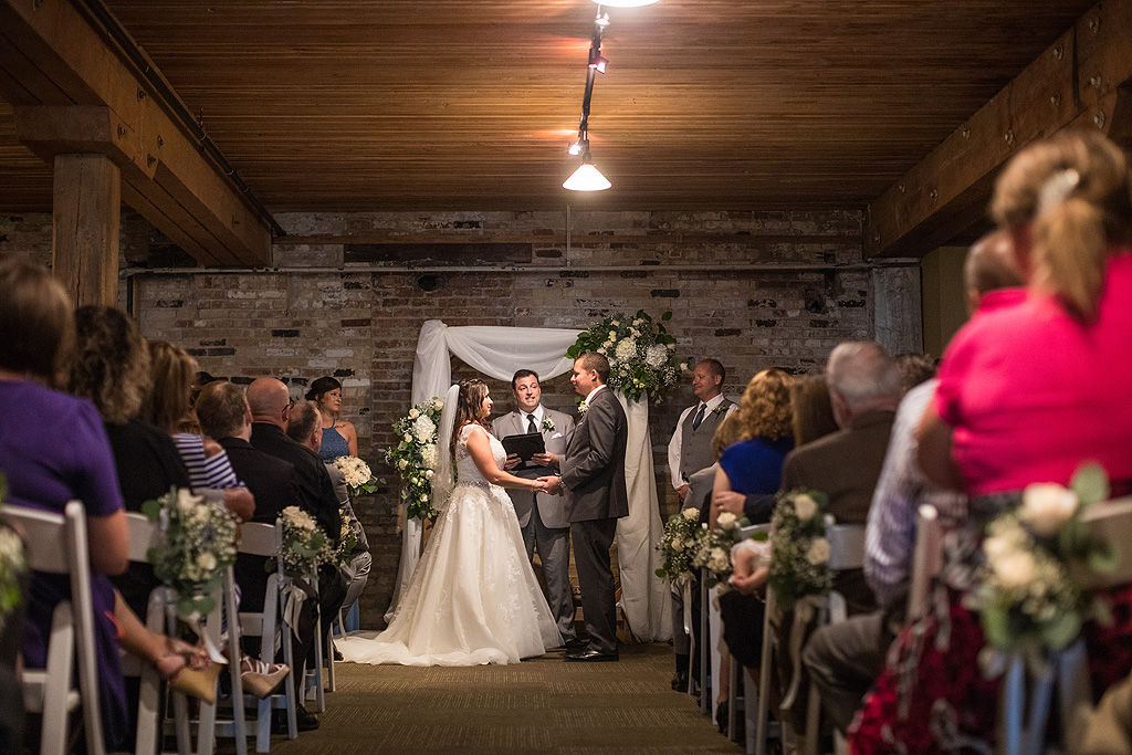 Real Wedding at Prairie Brewing Company in Rockford IL