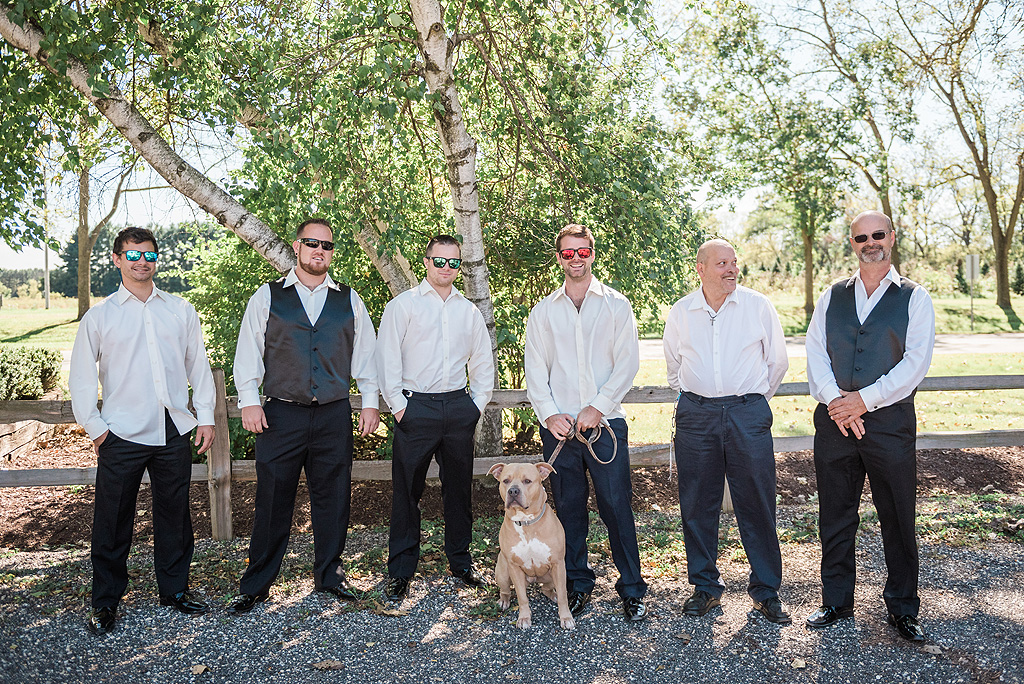 Real Fall Wedding at Williams Tree Farm in Rockton Illinois (16)