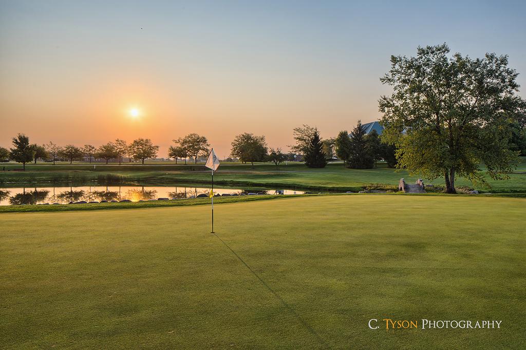 Norris Aldeen golf course hole #8