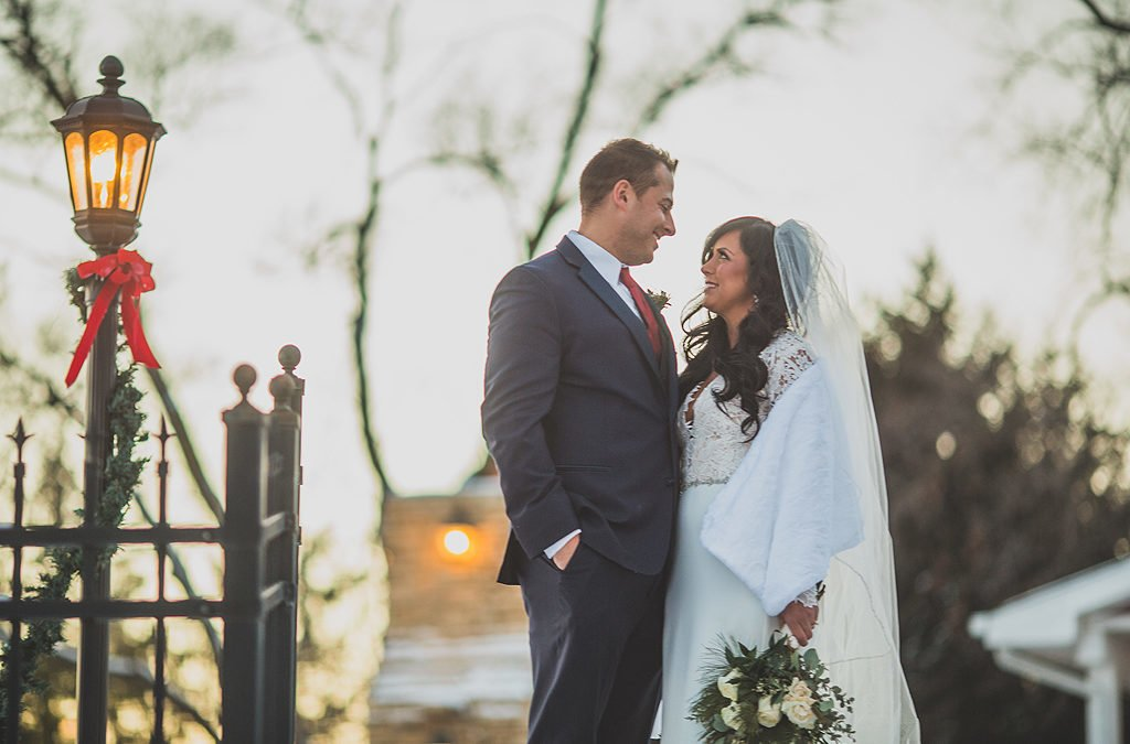 Jessica and Matt | Illinois Winter Wedding