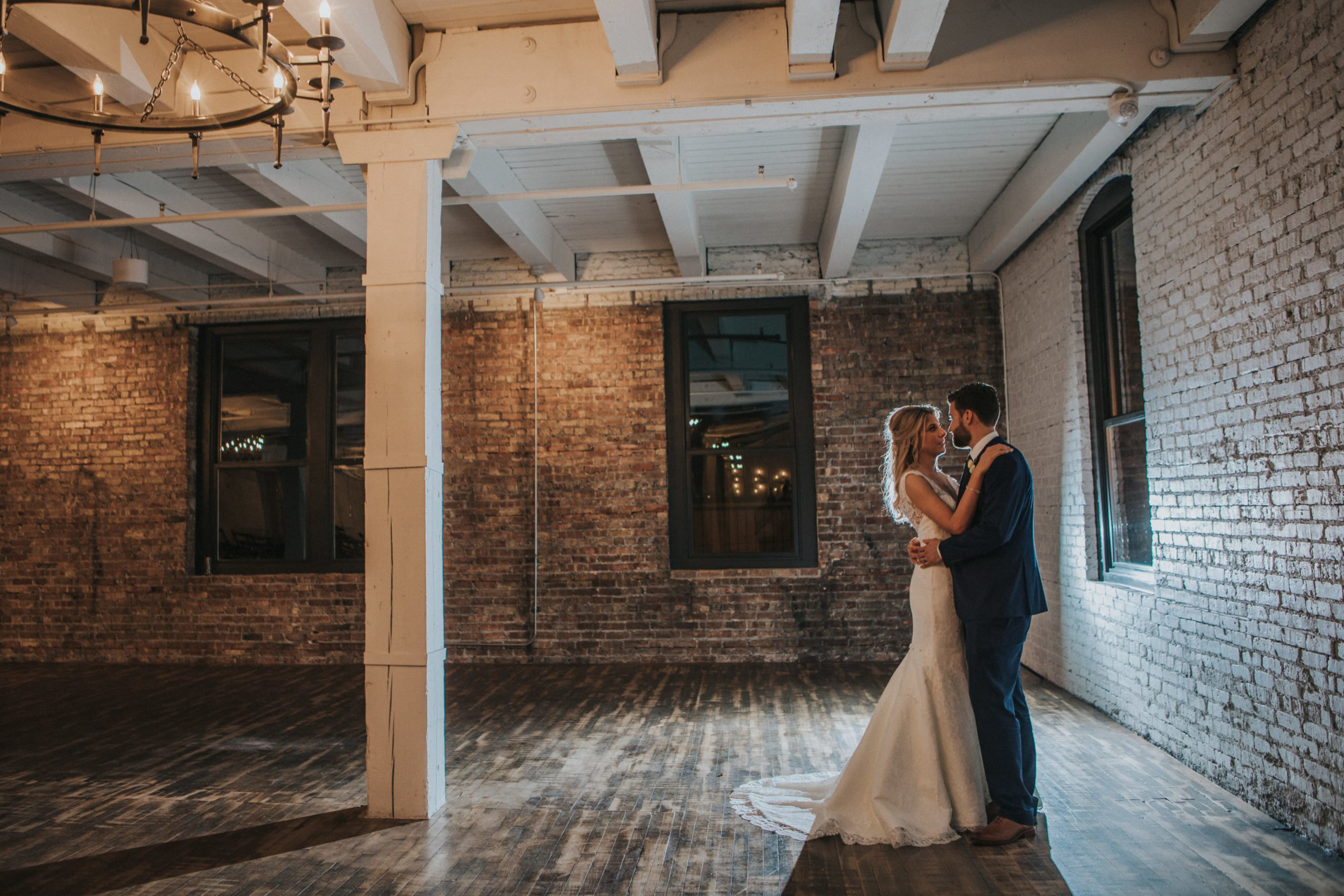 Courtney and Bryce | Wedding at Company 251 in Aurora IL