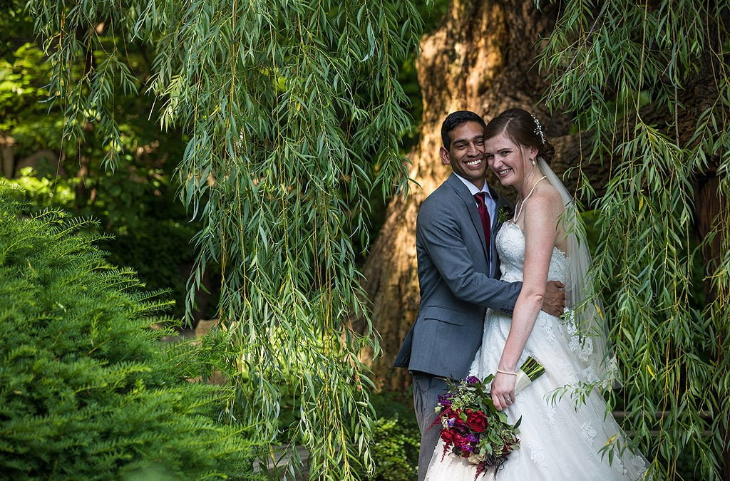 Emily and Rohail | Summer Wedding at Anderson Japanese Gardens