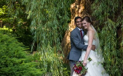 Emily and Rohail   Summer Wedding at Anderson Japanese Gardens