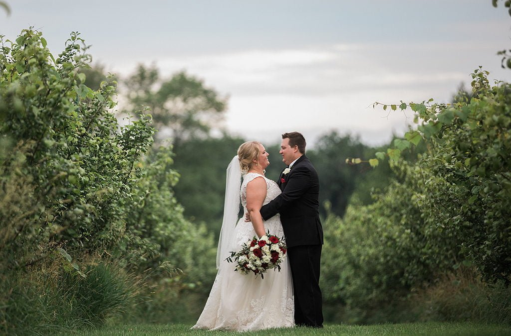Lindy and Brandon | Real Summer Wedding at The Pavilion at Orchard Ridge Farms