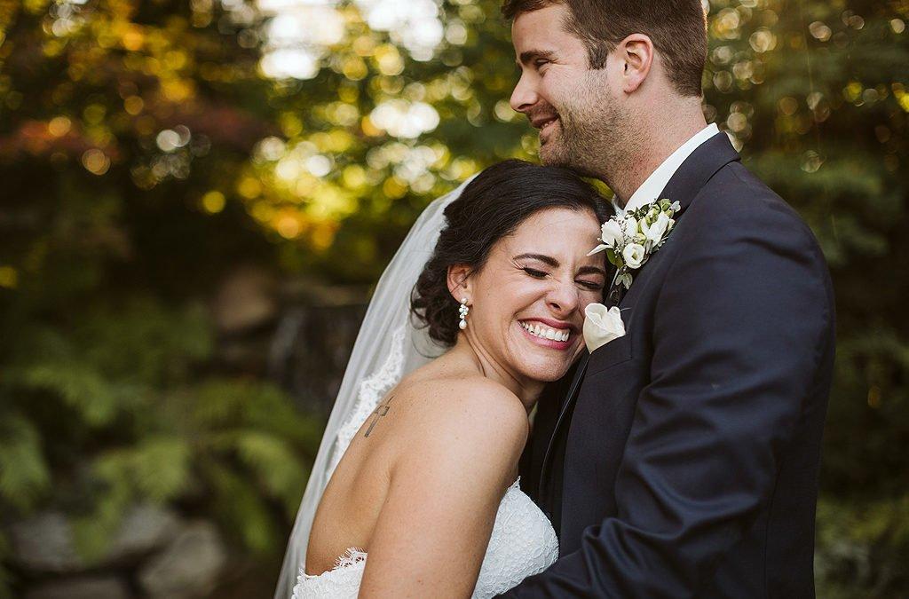 Samantha and Jake| Real Fall Wedding at Williams Tree Farm