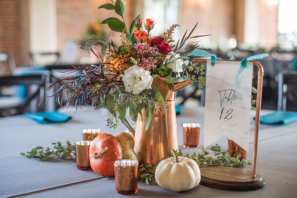 copper centerpieces
