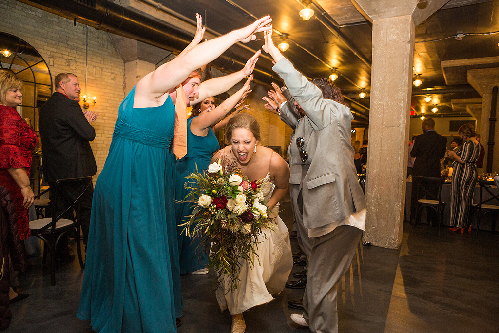 Real Wedding at the standard in rockford illinois