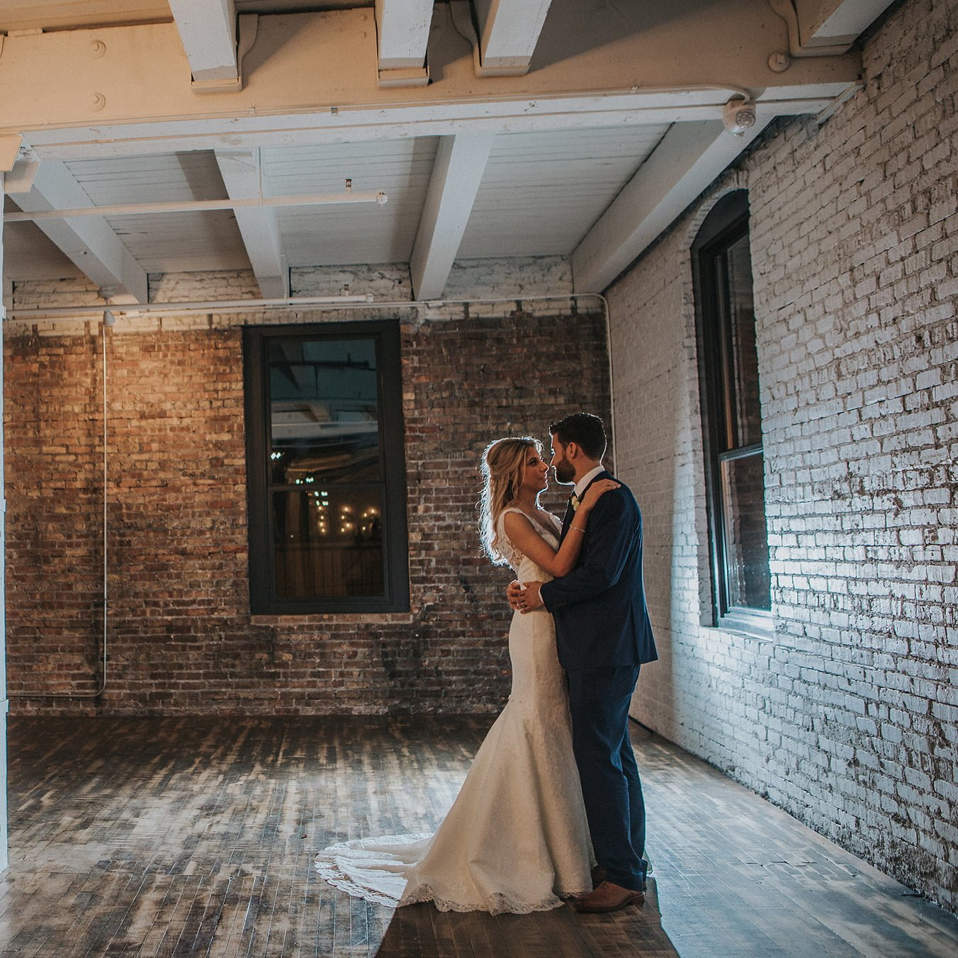 wedding couple at company 251
