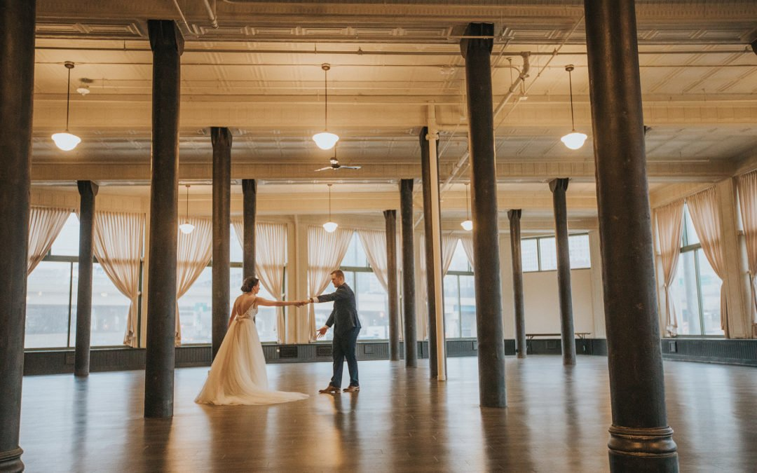 Summer and Jake | Real Wedding at the Pritzlaff in Milwaukee Wisconsin
